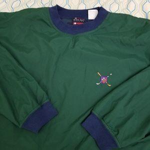 Vintage 90s Bugle Boy Windbreaker Pullover Jacket